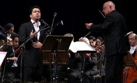 محمد معتمدی، ارکستر ملی ایران به رهبری فرهاد فخرالدینی