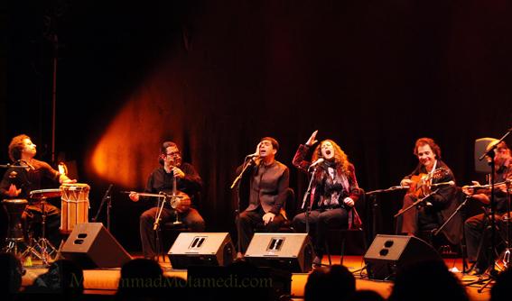 کنسرت قصیده، فستیوال فلامنکوی خِرِز ، جنوب اسپانیا 2011