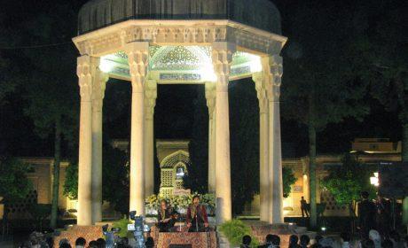 محمد معتمدی و مجید درخشانی، حافظیه، شیراز