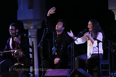 BIENAL DE FLAMENCO DE SEVILLA 2012. 'JEREZ', La Tremendita & Mohammad Motamedi, 'Qasida'