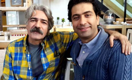 محمد معتمدی و استاد کیهان کلهر ، آمستردام 31 ژانویه 2015