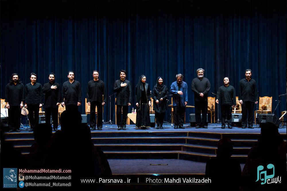 کنسرت گروه هم آوایان، حسین علیزاده و محمد معتمدی، با عنوان بحر طویل در تبریز، برگزار شد + گزارش تصویری