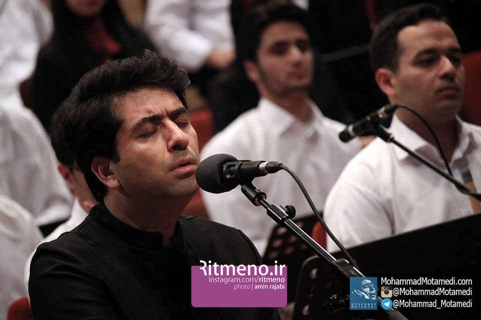 با  آواز محمد معتمدی، کنسرت ارکستر موج نو، به آهنگسازی علی قمصری، برگزار شد + گزارش تصویری