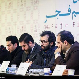 نشست خبری سیانور - محمد معتمدی