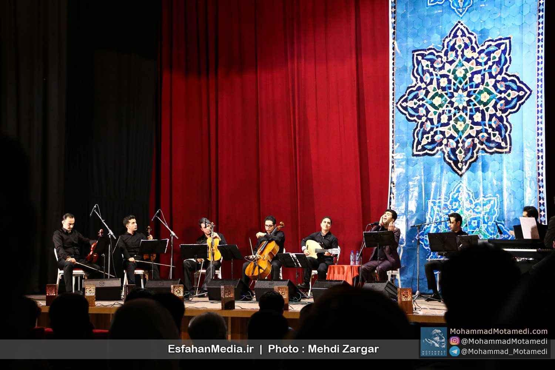محمد معتمدی در اصفهان به روی صحنه رفت + گزارش تصویری