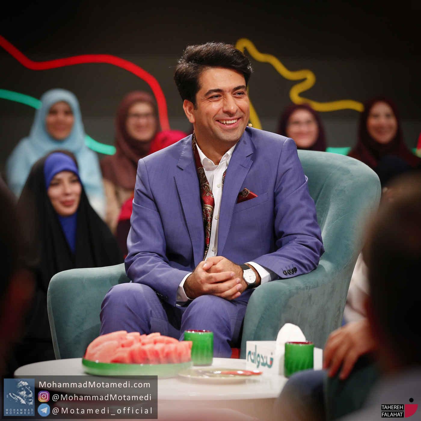گزارش تصویری برنامه خندوانه با حضور محمد معتمدی