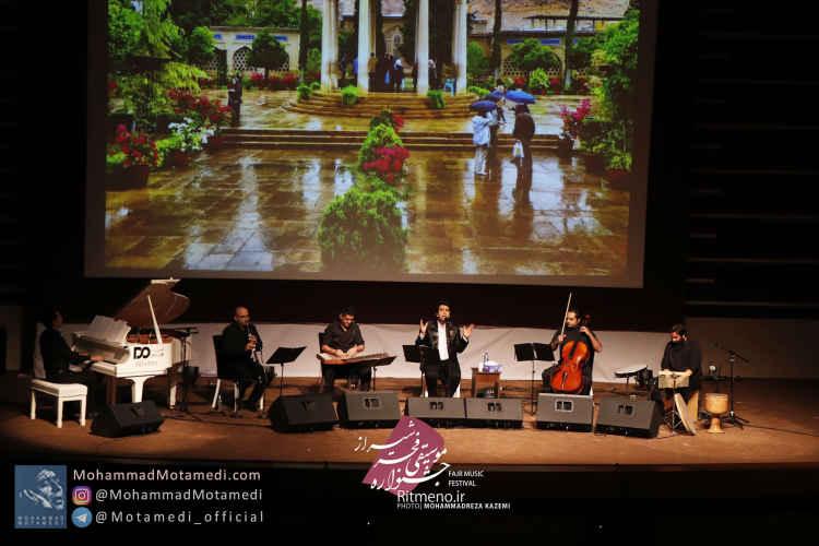 گزارش تصویری کنسرت محمد معتمدی در شیراز