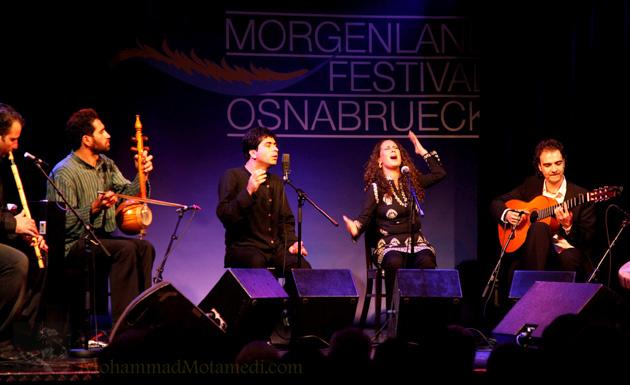کنسرت قصیده، فستیوال مورگن لند اوسنابروک، آلمان 2010